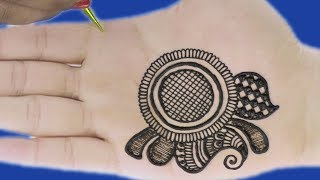 3D Mehndi Design for Hands | New Floral Mehndi Design by Sonia Goyal #14