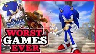 worst games ever sonic the hedgehog sonic 06
