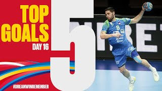 Top 5 Goals | Day 16 | Men's EHF EURO 2020