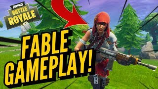 FABLE Skin Gameplay! In Fortnite Battle Royale