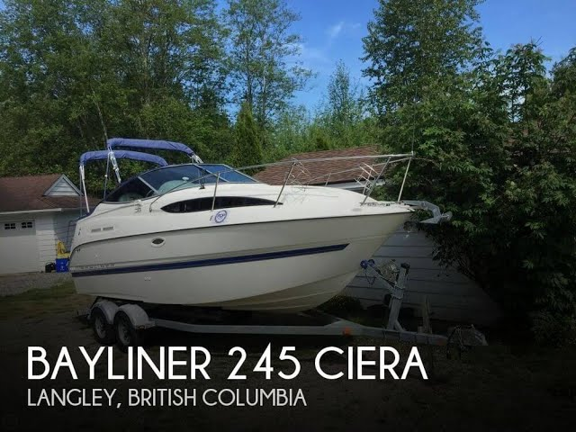 [SOLD] Used 2006 Bayliner 245 Ciera in Langley, British Columbia