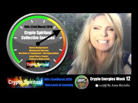 Crypto Energy Weekly 16th-22nd March 2018 & Energy Tips (Week 12): New Level Of Learning & Integrity