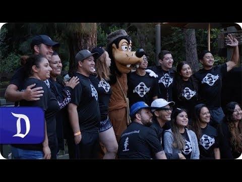 Paddles Up! Disneyland Resort Cast Members Dig Canoe Race Tradition