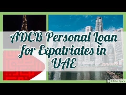 ADCB Personal Loan For Expatriates UAE