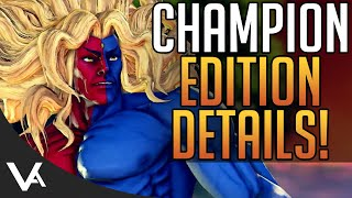 SFV - Gill Announced! New V-Skill Update, Champion Edition DLC News & More! Street Fighter 5