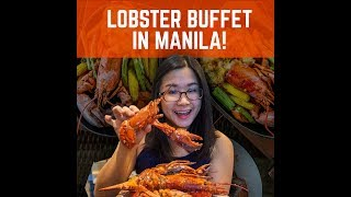 All You Can Lobsters Buffet in Manila! (Marriott Hotel, Philippines)