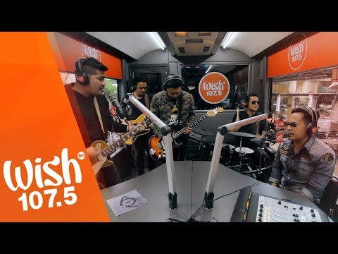 """6cyclemind performs """"No Rewind No Replay"""" LIVE on Wish 107.5 Bus"""