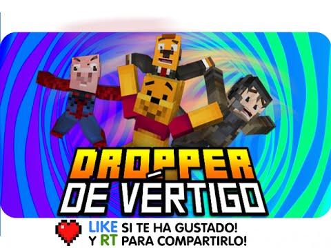 DROPPER DE VÉRTIGO! | Gona, Exo, Sara Y Luh En Minecraft Gravity