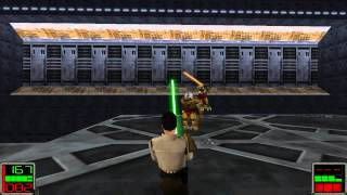 Star Wars Jedi Knight: Dark Forces II - (Level 11) The Brothers of the Sith