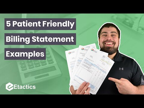 5 Patient Friendly Bill Statement Examples
