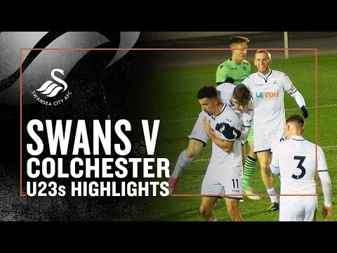 U23s Highlights: Swans 5 - 1 Colchester United | PL CUP