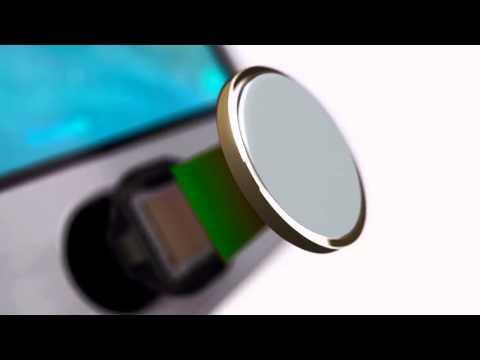 iPhone 5S: Fingerprint-Scanner Touch ID vorgestellt (engl.)