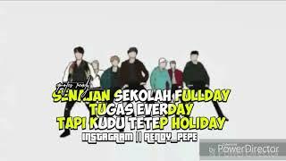 Story Wa happy holiday fersi es anak sekolahan wajib tonton