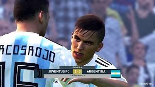 Argentina vs Juventus   MESSI vs RONALDO