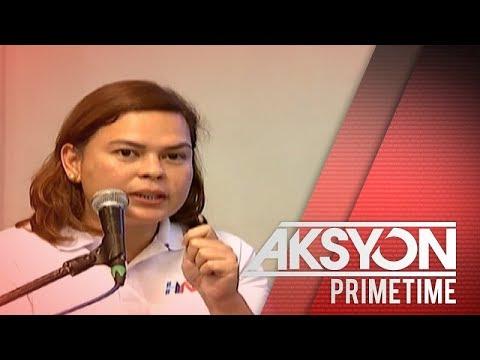 Mayor Sara Duterte, may banta kay House Speaker Alvarez
