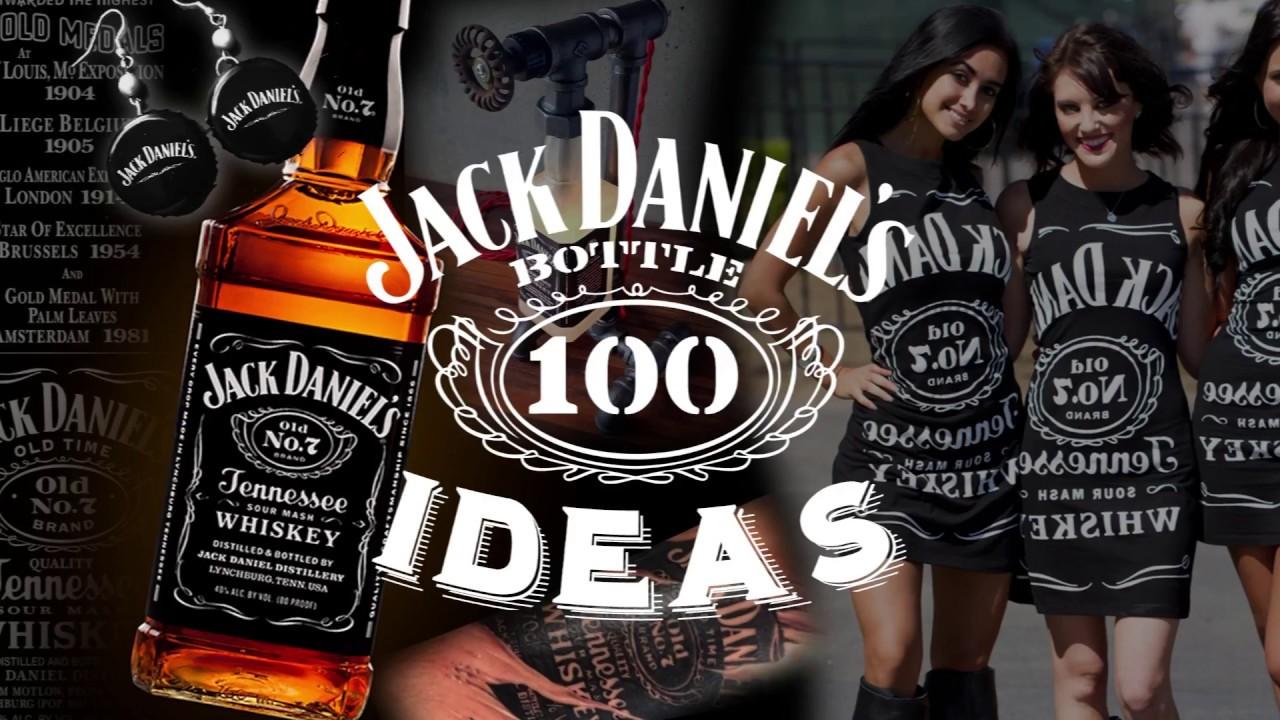 jack daniels whiskey bottle crafts