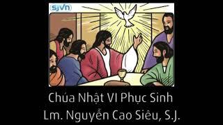 Học hỏi Phúc Âm Chúa Nhật VI Phục Sinh - Năm A