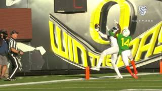 Highlight: Colorado football's Bryce Bobo makes spectacular one-handed TD catch to beat Oregon by : Pac-12 Networks