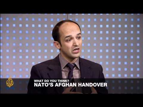 Riz Khan - Security transition in Afghanistan