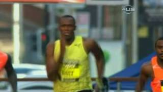 New World Record for Usain Bolt from Universal Sports