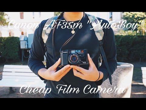 Cheap Film Camera - Canon AF35m