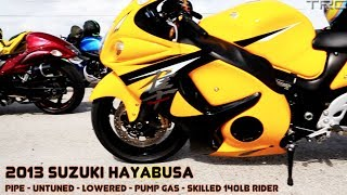 BMW S1000RR and Hayabusa