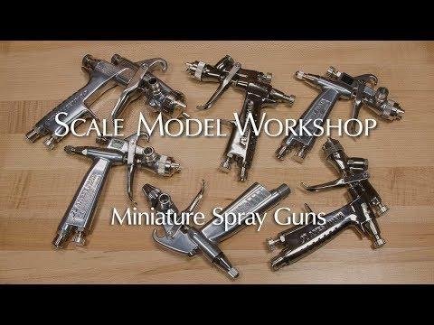 Mini Spray Guns For Scale Modeling