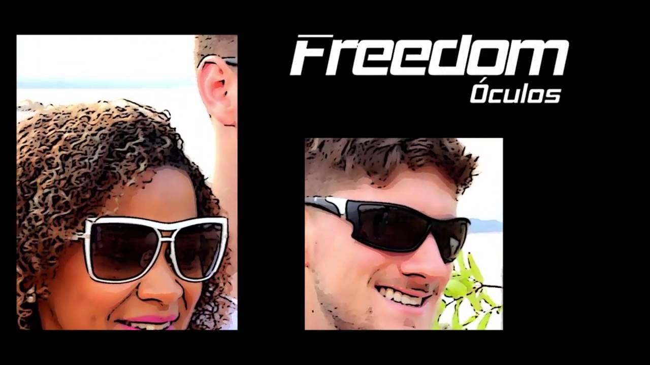 Óculos Freedom Coleção Verão - YouTube c8e5de8701