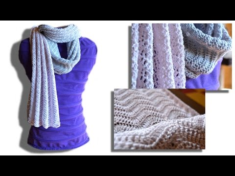 Passion scarf crochet pattern – Woolpedia®