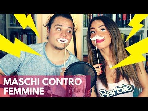 MASCHI contro FEMMINE   Vita Buttata ft. Lavinia ed Enrico