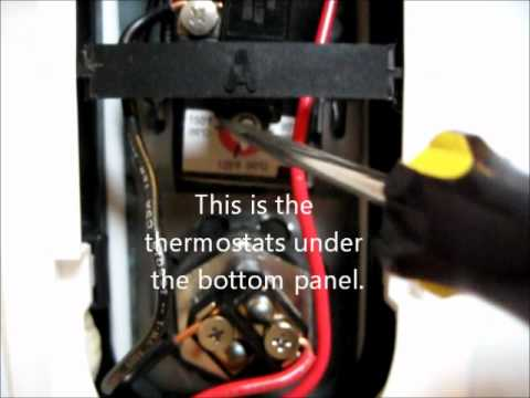 DIY how to adjust the temperature of the GE water heater Ge Model Ge M A Water Heater Wiring Diagram on