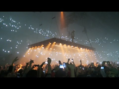 KANYES LAST CONCERT BEFORE CANCELING HIS TOUR!!