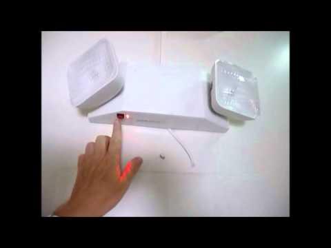 A19 revision de lamparas de emergencia youtube for Luces emergencia led