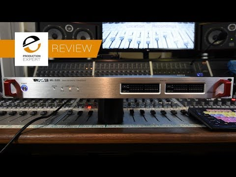 Review - Tascam ML-32D 32 Channel Line Level I/O To Dante Converter
