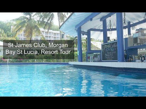 St James Club, Morgan Bay St Lucia Resort Tour