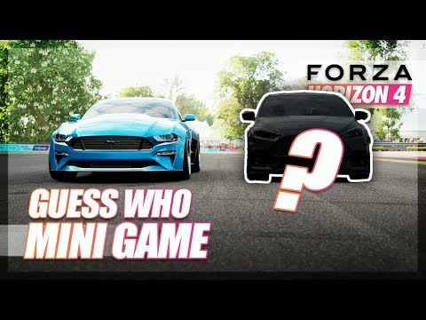 Forza Horizon 4 - Guess Who! (Mini Game) thumbnail