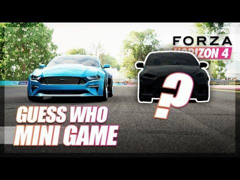 Forza Horizon 4 - Guess Who! (Mini Game)