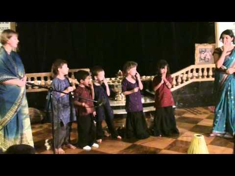 Balaram's Appearance day - 1st Grade Dhenukasura Song - 2/3