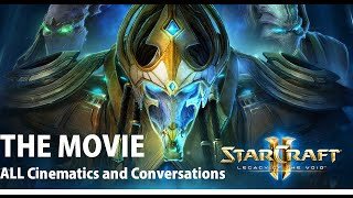 (HD) Starcraft 2 - Legacy of the Void - Full Campaign MOVIE (All Cinematics and Conversations!)