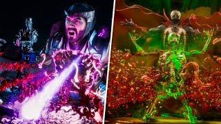 Mortal Kombat 11 All Fatalities - All Characters INCLUDES DLC Terminator , Spawn , Joker,  ROBOCOP