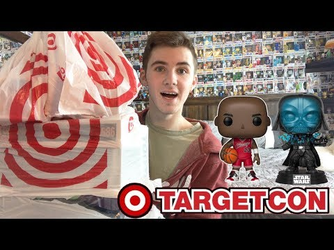 Target Con Funko Pop Hunting  So Many Cool Pops