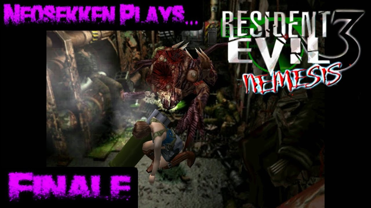 Resident Evil 3 Finale Neo Goes To Town On His Stalker