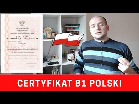 Сертификат B1 на знание польского языка. Ответы на главные вопросы.