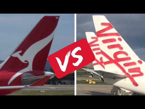 Which Is Better - Qantas Or Virgin Australia? Domestic Airbus A330 Business Class Compared ✈️