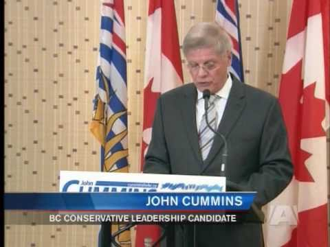 Cummins in one-man race for BC Conservative Leadership