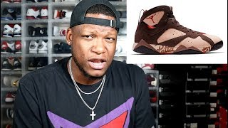 MY THOUGHTS ON THE JORDAN 7 X PATTA COLLAB!!!