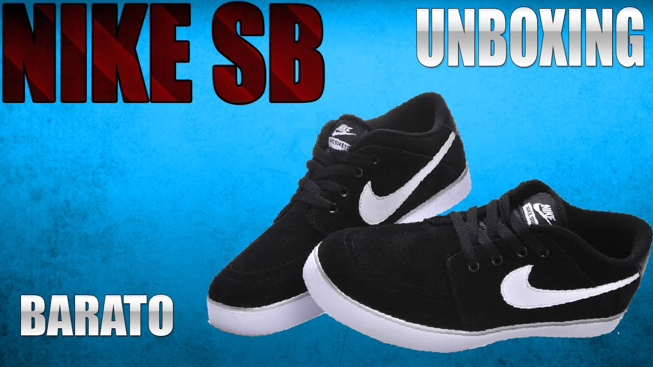 9e68d836bc8 Unboxing tênis nike sb - Tênis barato para skate - Até 100 reais ...