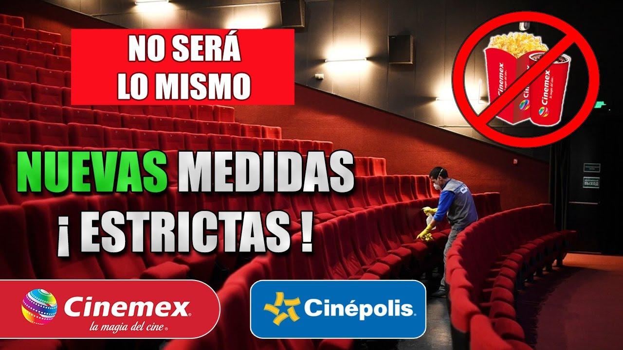 CINEMEX Y CINEPOLIS CON NUEVAS MEDIDAS EN AGOSTO (CDMX)