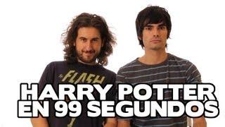 Super Harry Potter en 99 segundos (Version española)