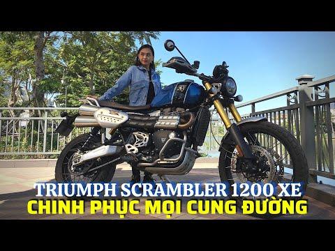 DRIVE TV | Đánh giá TRIUMPH SCRAMBLER 1200 XE - Vẻ ngoài cổ điển - Offroad ấn tượng